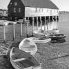 Dinghies at Bosham, Sussex