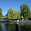 Canal / Boat House near River Thames and Sutton Courtenay (Oxfordshire) ~ July 2009