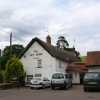 Ley Arms Pub in village of Kenn Devon - Cloudy day in June 2009