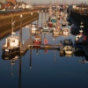 Reflections in River Nene Wisbech