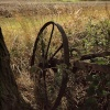 Disused farm equipment, Botolph Claydon, Bucks