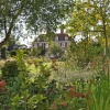 The gardens at the Salutation, Sandwich, Kent