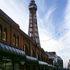 Blackpool tower on a fresh December Day
