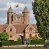 The entrance to Sissinghurst Castle, Kent