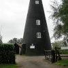 Ludham How Hill Tower, now holiday accommodation.