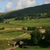 The countryside near Hawes