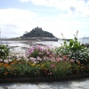 St Michaels Mount from the gardens in Marazion