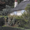 Thatched house in West Lulworth