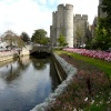 The Westgate and River Stour Canterbury