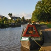 Canal boat on Trent and Mersey Canal - Aug 2009 near Anderton