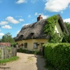 A Pretty Thatched House