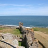 The coast of Northumberland from Dunstanburgh Castle