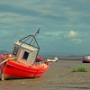Morecambe fishing boats.