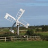 Wind pump on the marshes