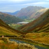 Kirkstone Pass, looking north.