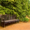 Coughton Court bench