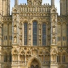 Facade of Wells Cathedral