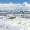 Stormy sea at Southwold