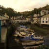 Harbour at Polperro.