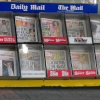 Newspapers stand