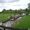 The locks near Devizes
