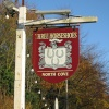 Three Horseshoes Pub Sign