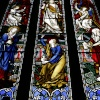 Village Church stained glass window
