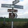 Roadsign at St. Peters South Elmham
