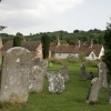 Churchyard and Village