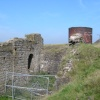 Engine house and ventilation shaft.