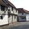 Lavenham from the main road