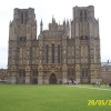 Wells Cathedral - the front