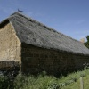 Thatched barn.