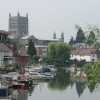 River Severn at Tewkesbury
