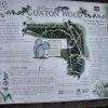 Info board for Gunton Wood