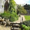 On the grounds of Beaulieu Abbey