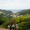 Looking down to Combe Martin.