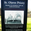 Information Board of the Priory