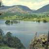 Postcard of Grasmere Lake and Town