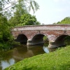 The one lane bridge over the River Yare at Bawburgh