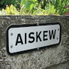 Aiskew Village sign