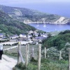 A view of Lulworth Cove