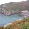 Lamorna Cove in the rain