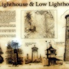 Dovercourt Lighthouses Information Board