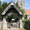 Lych gate of St. Leonard's Church, Watlington