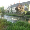 Houses along the River Coln - Fairford
