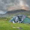 Tent in Snowdonia