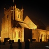 Wye Church at night