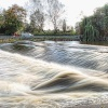 The weir at Shrewsbury