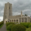 The Church of Sts Peter and Paul in Lavenham